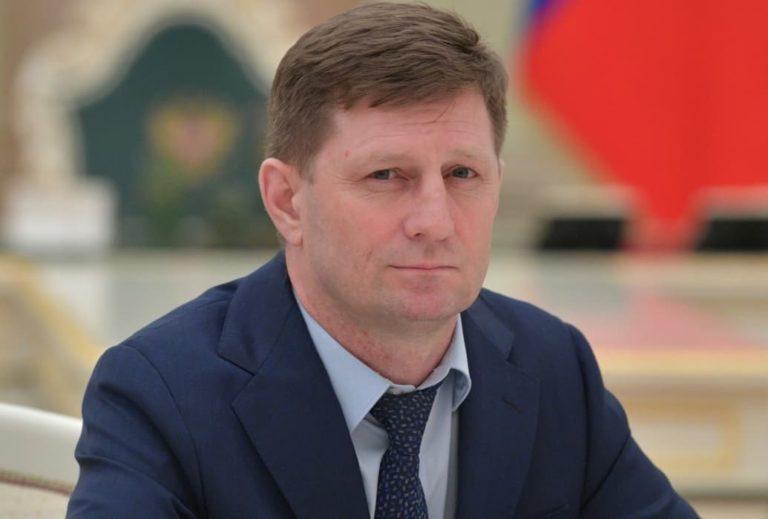 Митинг в Хабаровске. Арест губернатора Сергея Фургала